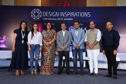 (Left -Right) Priti Bhatia, Awesome Sparklers;  Pallavi Foley, Jewellery Designer; Nirupa Bhatt, GIA; Colin Shah, Vice Chairman, GJPEC; Ankit Mehta (H. Dipak); Yash Agarwal, Birdhichand Ghanshyamdas; Abhishek Rastogi (Tanishq)